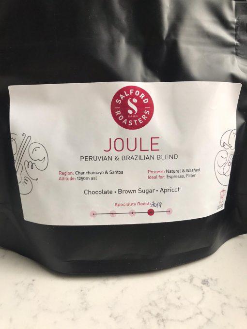 Peruvian and Brazilian artisan coffee