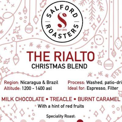 Salford Roasters Rialto Christmas Blend
