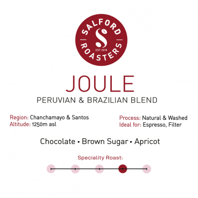 Joule artisan coffee from Manchester and Salford