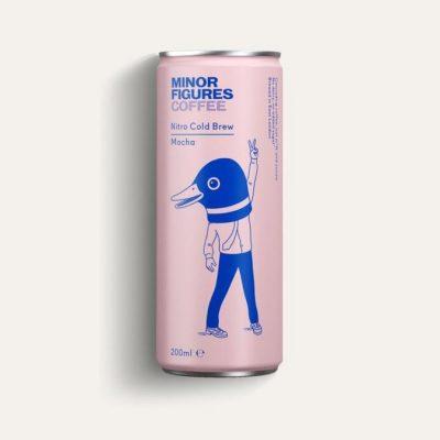 Minor Figures vegan nitro cold brew mocha