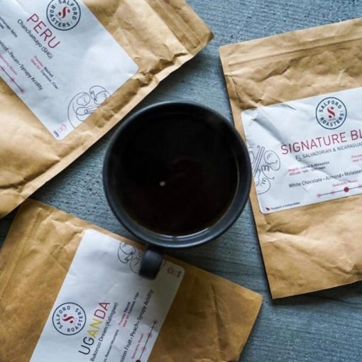 coffee in bag